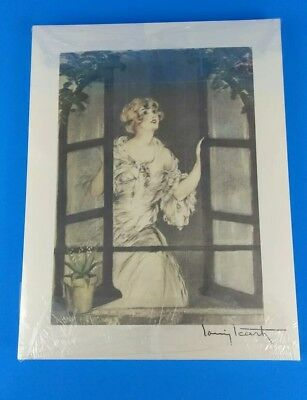 X100 Louis Icart Art Prints Part of 1928 Seasons Collection No Stamp (Lot 8)
