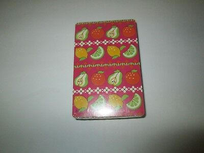 NEW Sealed Package Deck of Playing Cards TRUMP FRUIT