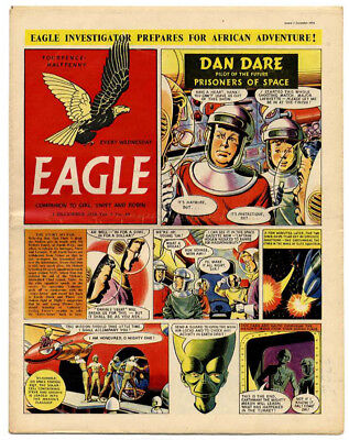 Eagle vol 5 no 49 (3 Dec 1954) very high grade - with 4-pg shopping supplement