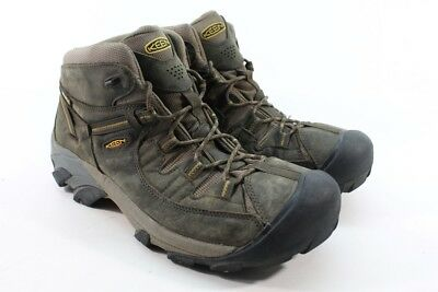 3c41343ee214 Keen Men s Targhee III Mid WP Black Olive Golden Brown Boot UK 13  EU