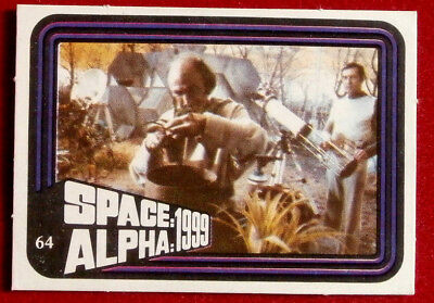 SPACE / ALPHA 1999 - MONTY GUM - Card #64 - Netherlands 1978