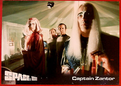 SPACE 1999 - Card #06 - Captain Zantor - Unstoppable Cards Ltd 2015