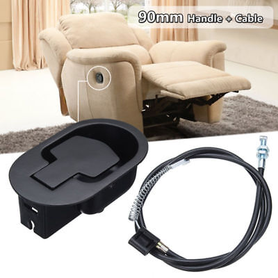 Lounge Chair Metal Recliner Handle Release Lever Trigger Cable Replacement Sofa
