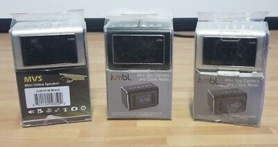 Job lot of 3 Secret Spy Camera /Mini Clock Radio, Motion Detection, Infrared