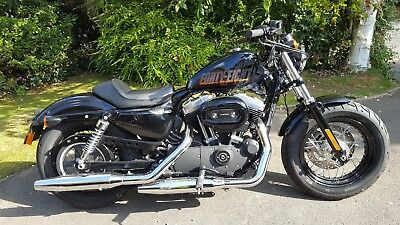 Harley-Davidson XL Sportster 48. 2015. Low miles 1400. Immaculate Condition.