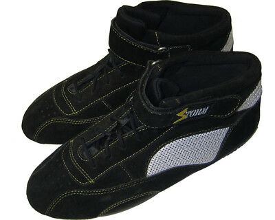 Storm Racing Go Kart Boots Black Karting Race Circuit Shoes Go-Kart