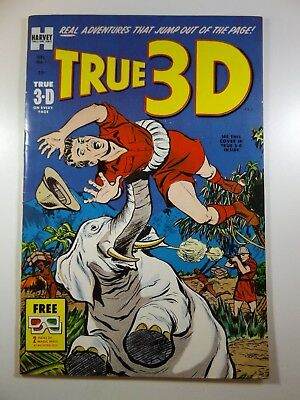 True 3D #1 High Grade Copy With Glasses! Beautiful VF-NM Condition!!