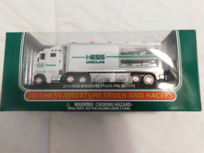 2013 Minature Truck And Racers Hess Collectables