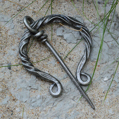 Viking Brooch Vintage Twist Cloak Pin Pins Ancient Medieval For Women And Men