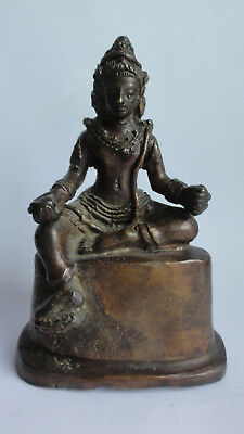 Alter Buddha Bronze Figur Statue China Tibet