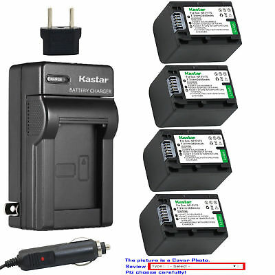 NP-FV70 Battery or AC Charger for Sony DCR-SX73 DCR-SX83 DCR-SX85 PXW-X70 DEV-3
