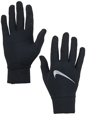 RUNNING GLOVES - NIKE DRI ELEMENT GLOVES FOR MEN - SIZE SMALL to XL
