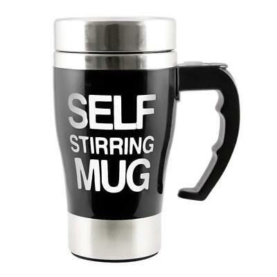 New Travel Style Self Stirring Mug  Mixing Lazy Special Glass
