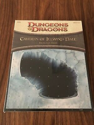 CAVERNS OF ICEWIND DALE - Dungeon Tiles, Set DN1: Dungeons & Dragons Accessory