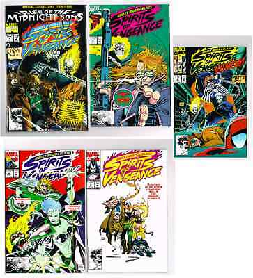 Ghost Rider Comic Lot 9 Issues #4,9,25, Cable, Spirits Of Vengeance #1-5 Nm New!