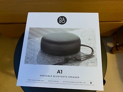 Bang & olufsen A1 Beoplay A1 Bluetooth speaker.Black. New.