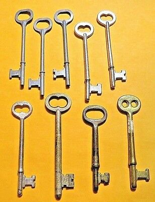 Vintage Skeleton Key lot of 9