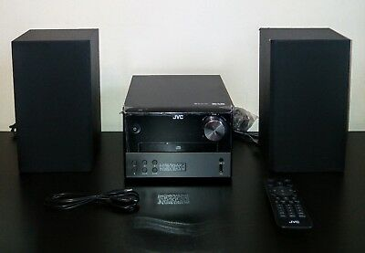 JVC UX-D327B Wireless Traditional Hi-Fi System