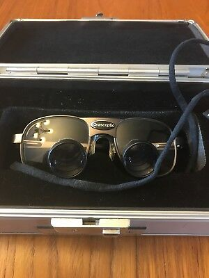 ORASCOPTIC DENTAL LOUPES-In Great Condition