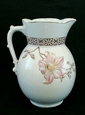 Antique Johnson Brothers England semi porcelain pitcher 7.25 inches