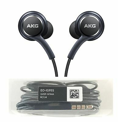 Original AKG Earphones Headphones for Samsung Galaxy s8 s9 s9 Plus Note 8 & mic.