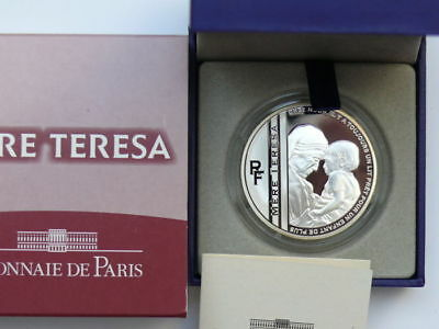 10 Euro argent MERE TERESA BE 2010