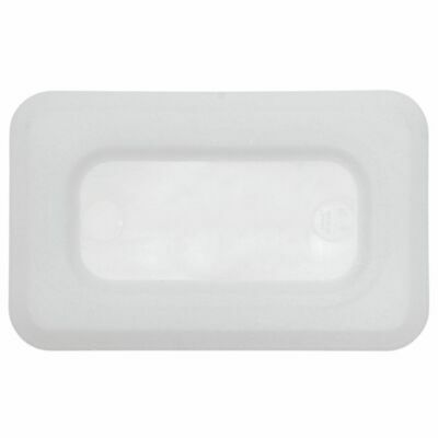 Ninth Size Sealed Cover For Cold Food Pans Translucent