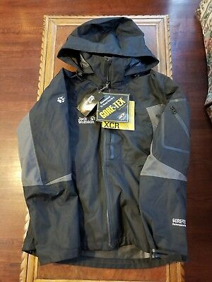 JACK WOLFSKIN 2 in 1 gore tex XCR outerwear jacket coat NWT