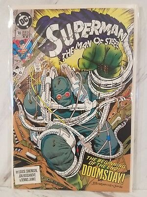 Man of Steel #18! High Grade! 1st appearance of Doomsday!