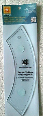Ez Simplicity Single Arc Template For Double Wedding Ring Patchwork Quiltin Bnew