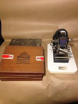 Howard Machine Hot Foil Stamping Machine + Number Letter Stamps
