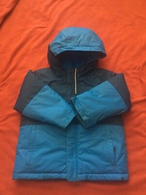 Columbia Coat Boys 3t Toddler Blue Hooded Puffer