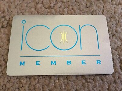 Madonna. ICON Official Fan club Membership Card. NEW. Unused. RARE.