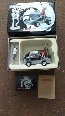 James Bond Collection 007 Moon Buggy & Sean Connery Figure 65201 Corgi Classics