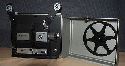 Bell & Howell 467Z Dual Super 8 / 8mm Projector Original Packaging/Maual