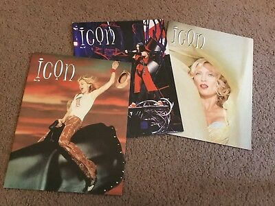 Madonna. Official ICON Fan Club Magazines. 2001-2002.