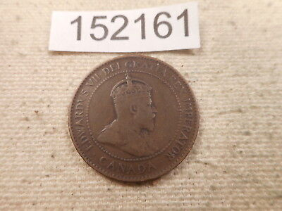1906 Canada Large Cent - Raw - Very Nice Collector Grade Album Coin - # 152161