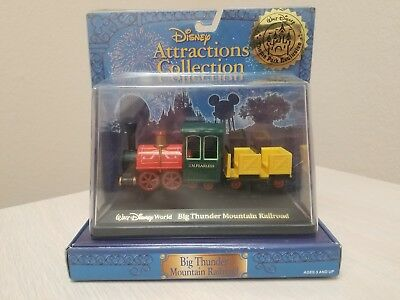 Disneyland Die cast BIG THUNDER MOUNTAIN RAILROAD Attractions Collection Vehicle