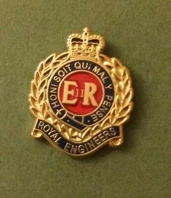 The Royal Engineers Lapel Badge