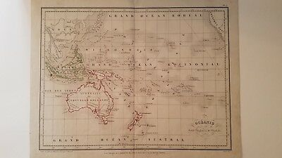 1855 Map of Oceania by Meissas & Michelot, Australia/New Holland