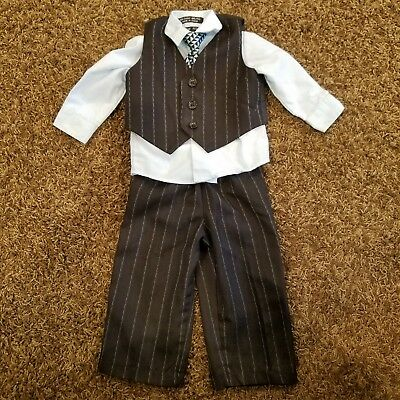 3-6 month boys 4-piece suit