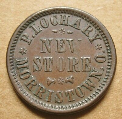 Morristown OH565A-1a R-5 EF - P. Lochary's New Store - Single Merchant Town