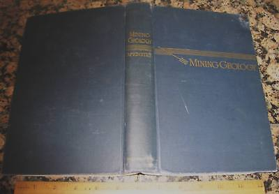 MINING GEOLOGY by McKinstry 1957 Ore Deposits Prospecting Metal Mines Drilling