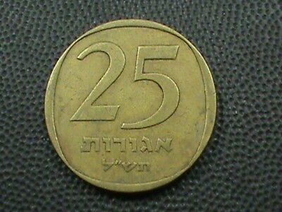 ISRAEL    25 Agorot   1970  -  5730   ,   $ 2.99  maximum  shipping  in  USA