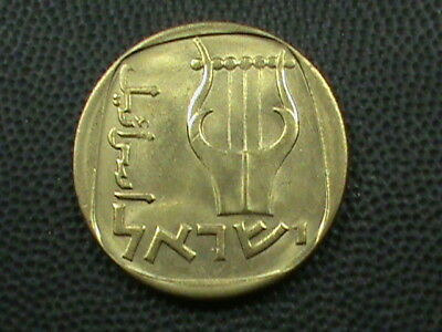 ISRAEL   25 Agorot   1978  -  5738   UNC  ,   $ 2.99  maximum  shipping  in  USA