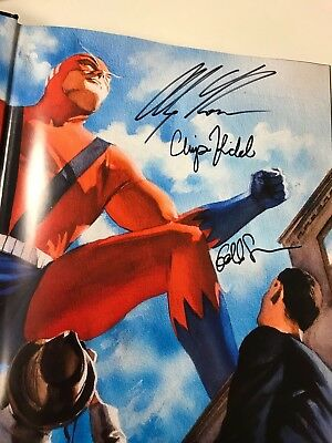 MARVELOCITY signed by ALEX ROSS, CHIP KIDD, & GEOFF SPEAR IN PERSON at NYCC