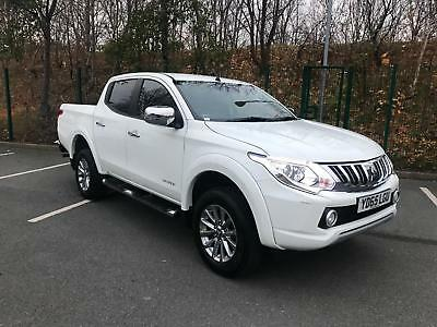 Mitsubishi L200 2.4DI-D 2016 4WD NEW SHAPE Huge Spec Sat Nav Heated Leather A/C