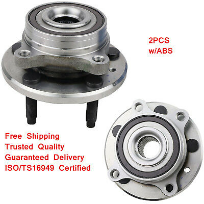 2PCS Front/Rear Wheel Hub&Bearing Assembly for Ford Taurus Flex Lincoln MKS MKT