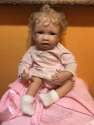 Ashton Drake Your Picture-Perfect Baby So Truly Real Baby Doll Waltraud Hanl