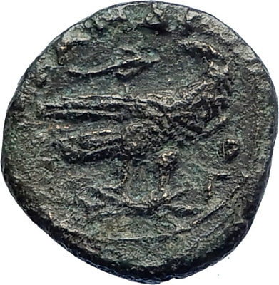 ALEXANDER III the GREAT 336BC  Eagle on Thunderbolt Ancient Greek Coin  i73631